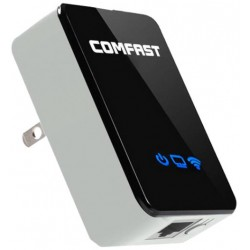 REPETIDOR PUNTO DE ACCESO WIFI INALAMBRICO 300MBPS CHIP REALTEK 802.11 g/b/n COMFAST