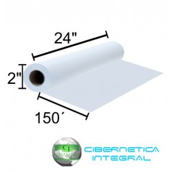 Rollo de Papel para Plotter HP C1860A 24Pgds x 150Pies BOND Blanco