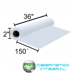 Rollo de Papel para Plotter HP Q1397A 36Pgds x 150Pies BOND Blanco